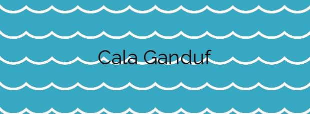 Información de la Cala Ganduf en Palma de Mallorca