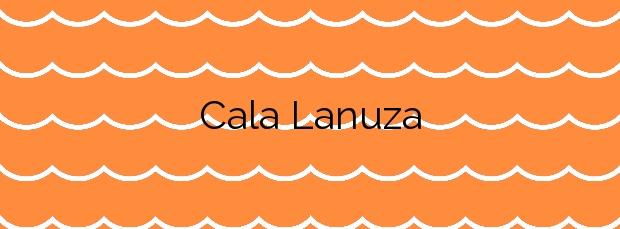 Información de la Cala Lanuza en El Campello