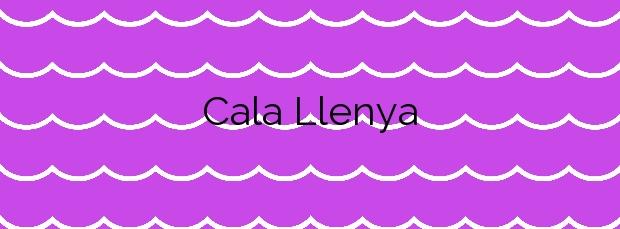 Información de la Cala Llenya en Santa Eulalia del Río