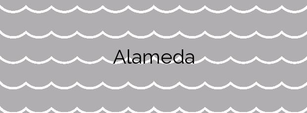 Información de la Playa Alameda en Miño