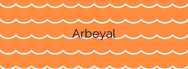 Información de la Playa Arbeyal en Gijón