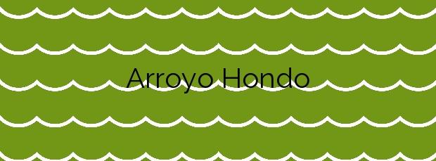 Información de la Playa Arroyo Hondo en Benalmádena
