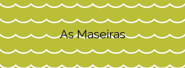 Información de la Playa As Maseiras en Cabana de Bergantiños