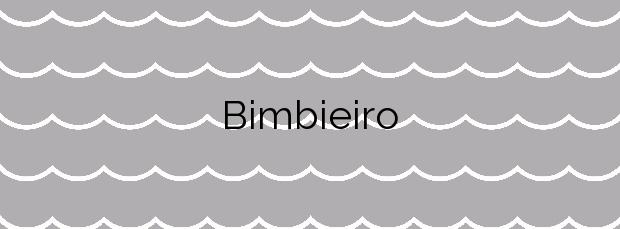 Información de la Playa Bimbieiro en Ortigueira