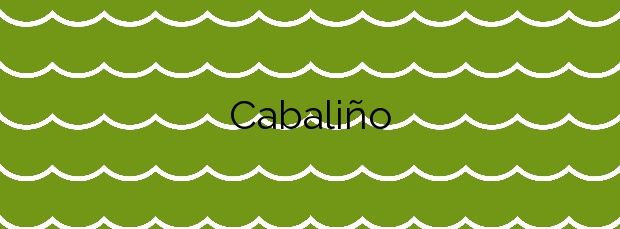 Información de la Playa Cabaliño en Ferrol