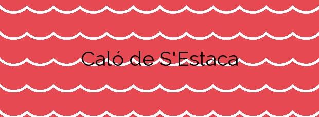 Información de la Playa Caló de S'Estaca en Valldemossa