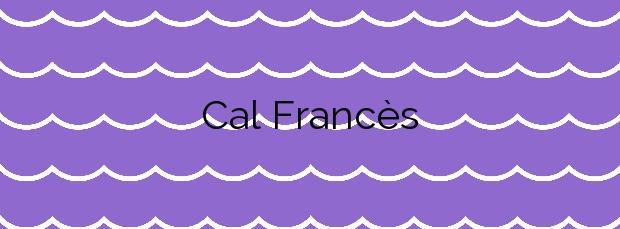 Información de la Playa Cal Francès en Viladecans
