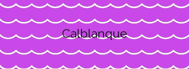 Información de la Playa Calblanque en Cartagena