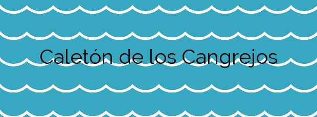 Información de la Playa Caletón de los Cangrejos en Gáldar