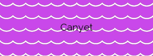 Información de la Playa Canyet en Santa Cristina d'Aro