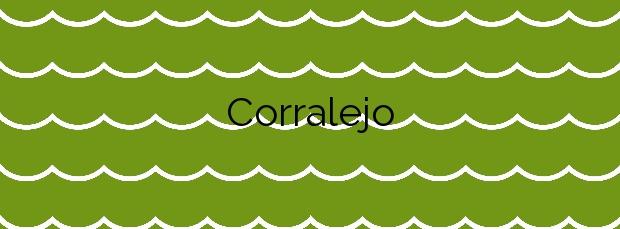 Información de la Playa Corralejo en La Oliva