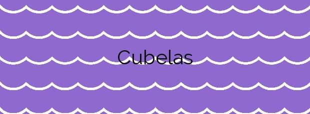 Información de la Playa Cubelas en Cervo