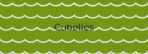 Información de la Playa Cubelles en Cubelles