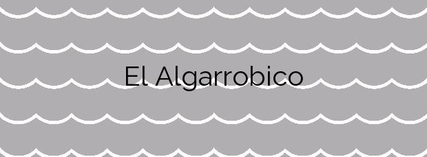 Información de la Playa El Algarrobico en Carboneras