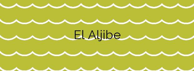Información de la Playa El Aljibe  en La Oliva