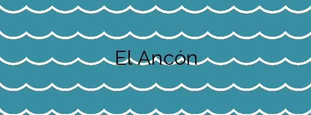 Información de la Playa El Ancón en Carboneras