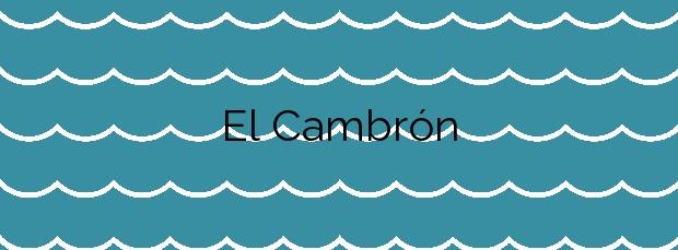 Información de la Playa El Cambrón en Salobreña