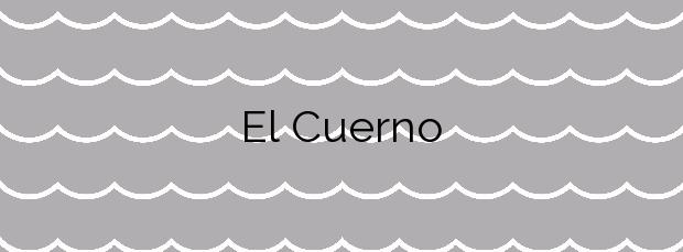 Información de la Playa El Cuerno en Castrillón
