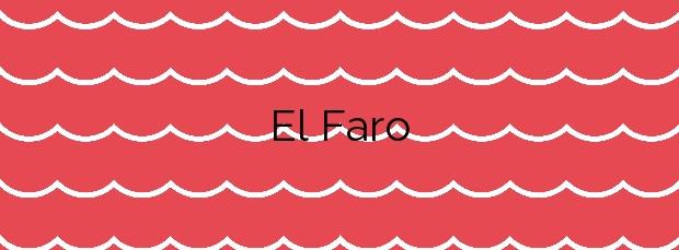 Información de la Playa El Faro en Cullera