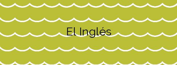 Información de la Playa El Inglés en Valle Gran Rey