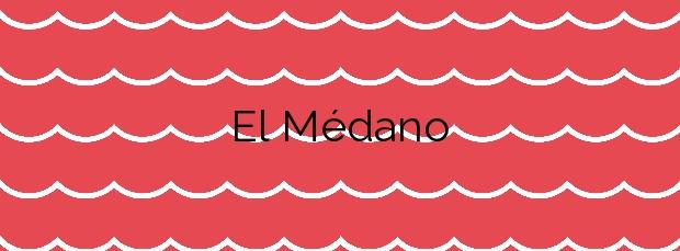 Información de la Playa El Médano en Granadilla de Abona