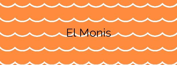 Información de la Playa El Monis en Icod de los Vinos