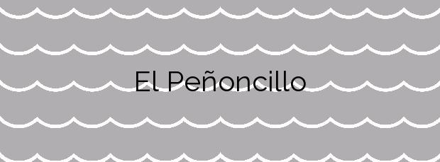 Información de la Playa El Peñoncillo en Torrox