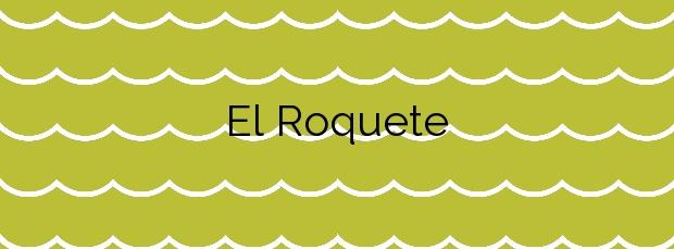 Información de la Playa El Roquete en San Cristóbal de La Laguna