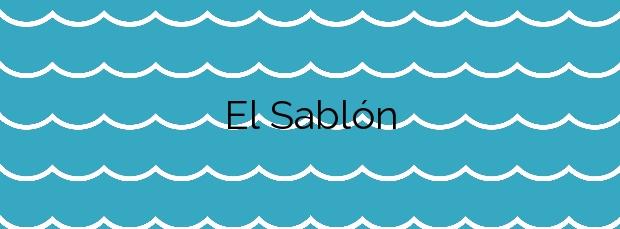 Información de la Playa El Sablón en Llanes