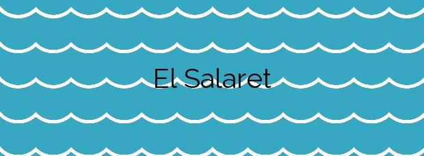 Información de la Playa El Salaret en Torrevieja