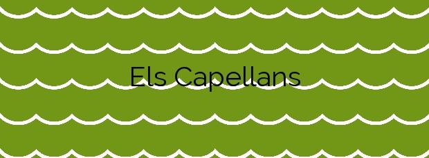 Información de la Playa Els Capellans en Salou