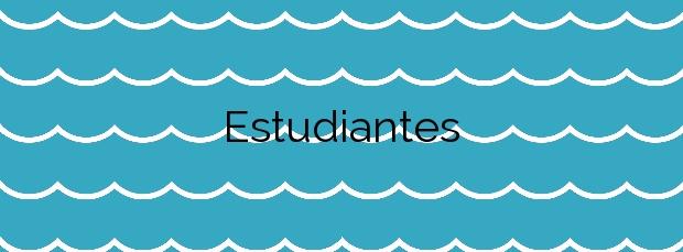 Información de la Playa Estudiantes en Villajoyosa
