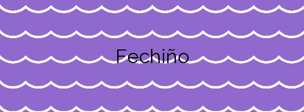 Información de la Playa Fechiño en Vigo