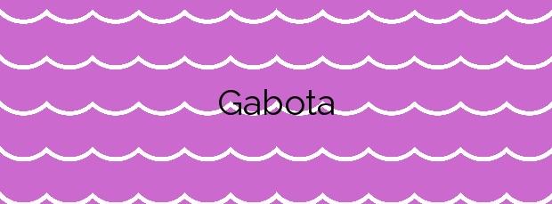 Información de la Playa Gabota en Carnota