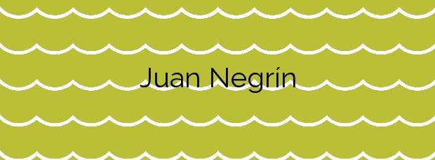 Información de la Playa Juan Negrín en San Cristóbal de La Laguna