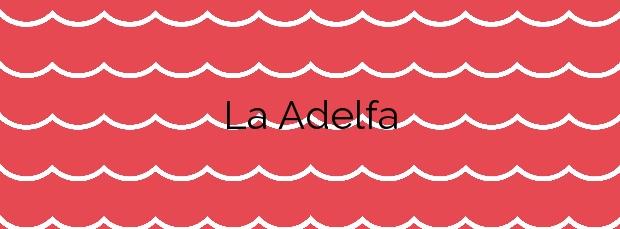 Información de la Playa La Adelfa en Marbella