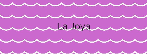 Información de la Playa La Joya en Motril
