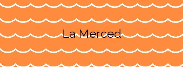 Información de la Playa La Merced en A Pobra do Caramiñal