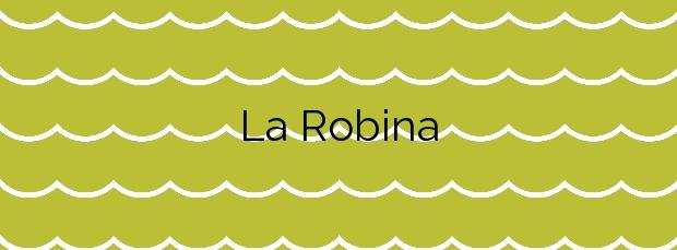 Información de la Playa La Robina en Castelló d'Empúries