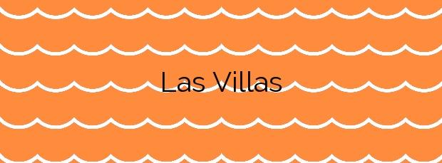 Información de la Playa Las Villas en Pilar de la Horadada