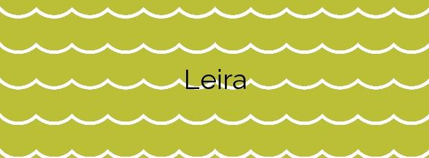Información de la Playa Leira en Carballo