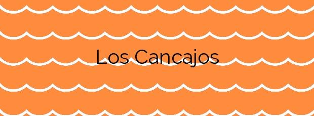Información de la Playa Los Cancajos en Breña Baja