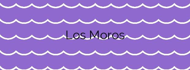 Información de la Playa Los Moros en A Coruña