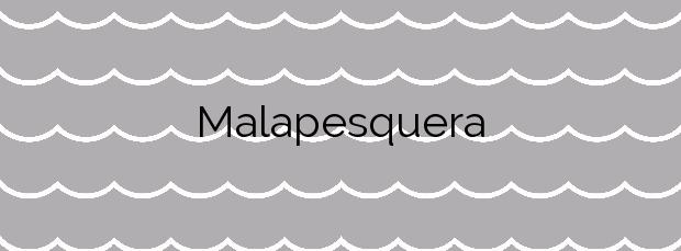 Información de la Playa Malapesquera en Benalmádena