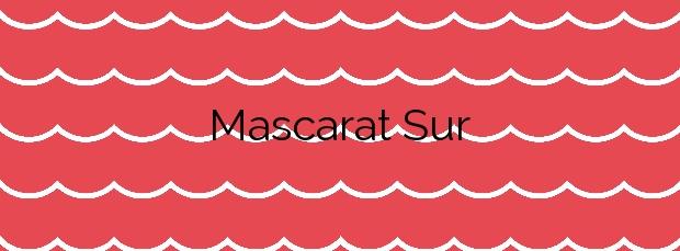 Información de la Playa Mascarat Sur en Altea