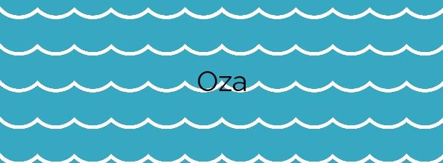 Información de la Playa Oza en A Coruña