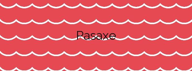 Información de la Playa Pasaxe en Vilanova de Arousa
