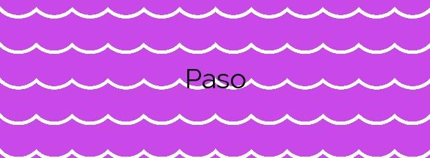 Información de la Playa Paso en Yaiza