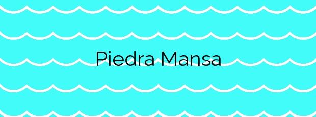 Información de la Playa Piedra Mansa en Tinajo
