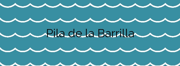 Información de la Playa Pila de la Barrilla en Tías